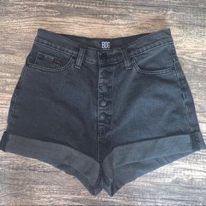 Button-Up Mom Shorts